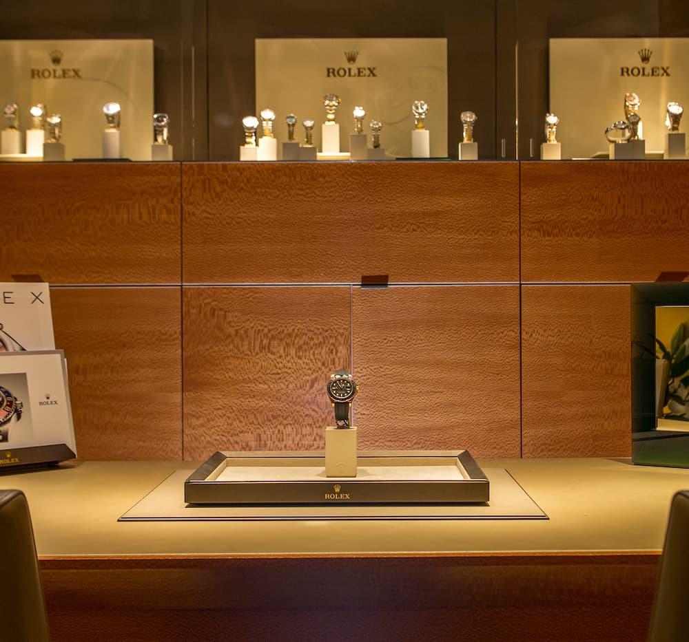 Kirk Freeport - Rolex showrooms
