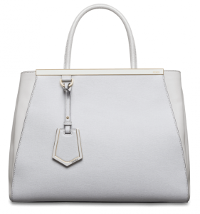 White Fendi Handbag at Kirk Freeport in the Cayman Islands
