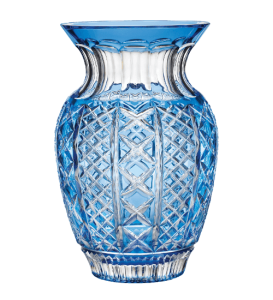 Waterford Fleurolofy Molly Bouquet Vase in Light Blue at Kirk Freeport in the Cayman Islands