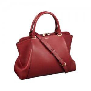 Cartier Luxury Leather Women's Handbag at Kirk Freeport in the Cayman Islands