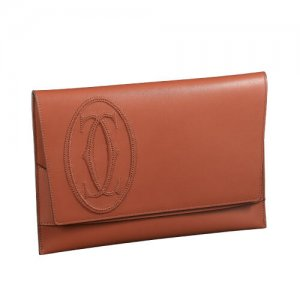 Cartier Luxury Leather Wallets for Men at Kirk Freeport in the Cayman Islands