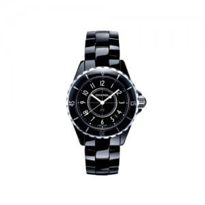 Chanel Ladies Calssic Black Watch at Kirk Freeport in the Cayma Islands