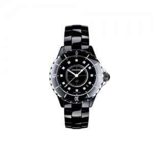 J12 Black Chanel Watch at Kirk Freeprot in the Cayman Islands