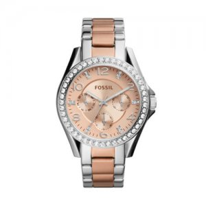 Rose Gold Ladies Fossil Watches at Kirk Freeport in Grand Cayman
