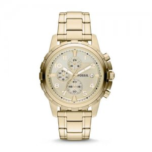 Women's Gold Fossil Watches at Kirk Freeport in the Cayman Islands