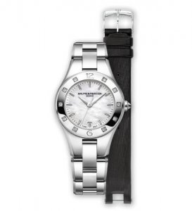 Ladies Linea 10073 watch by Baume & Mercier Watches at Kirk Freeport in Grand Cayman