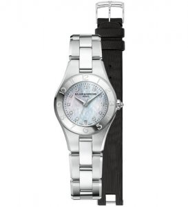 Women's Linea 10010 watch by Baume & Mercier Watches at Kirk Freeport in Grand Cayman