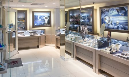 Kirk Freeport presents first store located in the Westin Hotel located on Seven Mile Beach in the Grand Cayman Islands