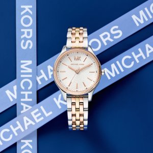 Luxury Michael Kors watches at Kirk Freeport in the Caymans Islands.