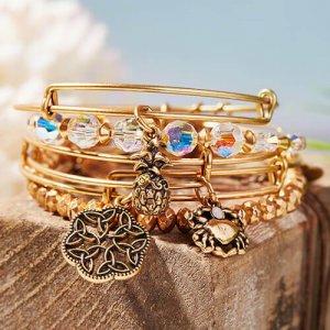 Bohemian bangle bracelet by Alex & Ani Jewelry at Kirk Freeport in Grand Cayman