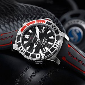 Carl F Bucherer ScubaTec dive watch at Kirk Freeport in Grand Cayman