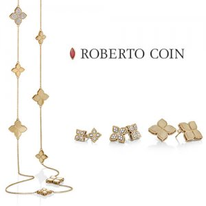 Roberto Coin Princess Flower Collection at Kirk Freeport in Grand Cayman
