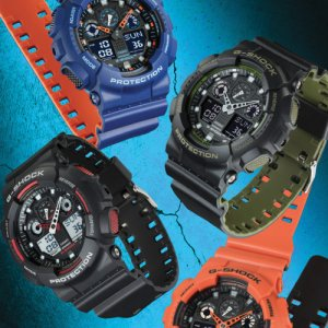 G-Shock Protection Watch in black at Kirk Freeport in Grand Cayman