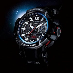 Black G-Shock Men's Watches at Kirk Freeport in the Cayman Islands