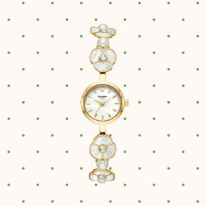Kate Spade Watch with flowers on the wristband at Kirk Freeport in Grand Cayman