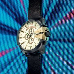 Leather Diesel Watches at Kirk Freeport in the Cayman Islands