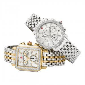 Michele watches for women at Kirk Freeport in Grand Cayman.