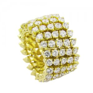 Serafino Consoli diamond band that expands into a bracelet – Kirk Freeport in Grand Cayman