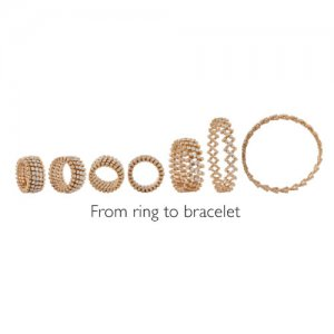Adjustable gold eternity bands from Serafino Consoli for every finger size, style and mood – Kirk Freeport in Grand Cayman